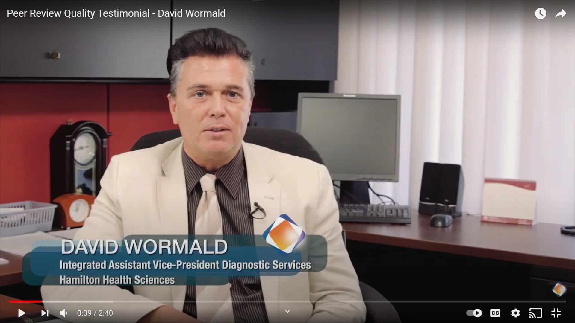 David Wormald Hamilton Health Sciences